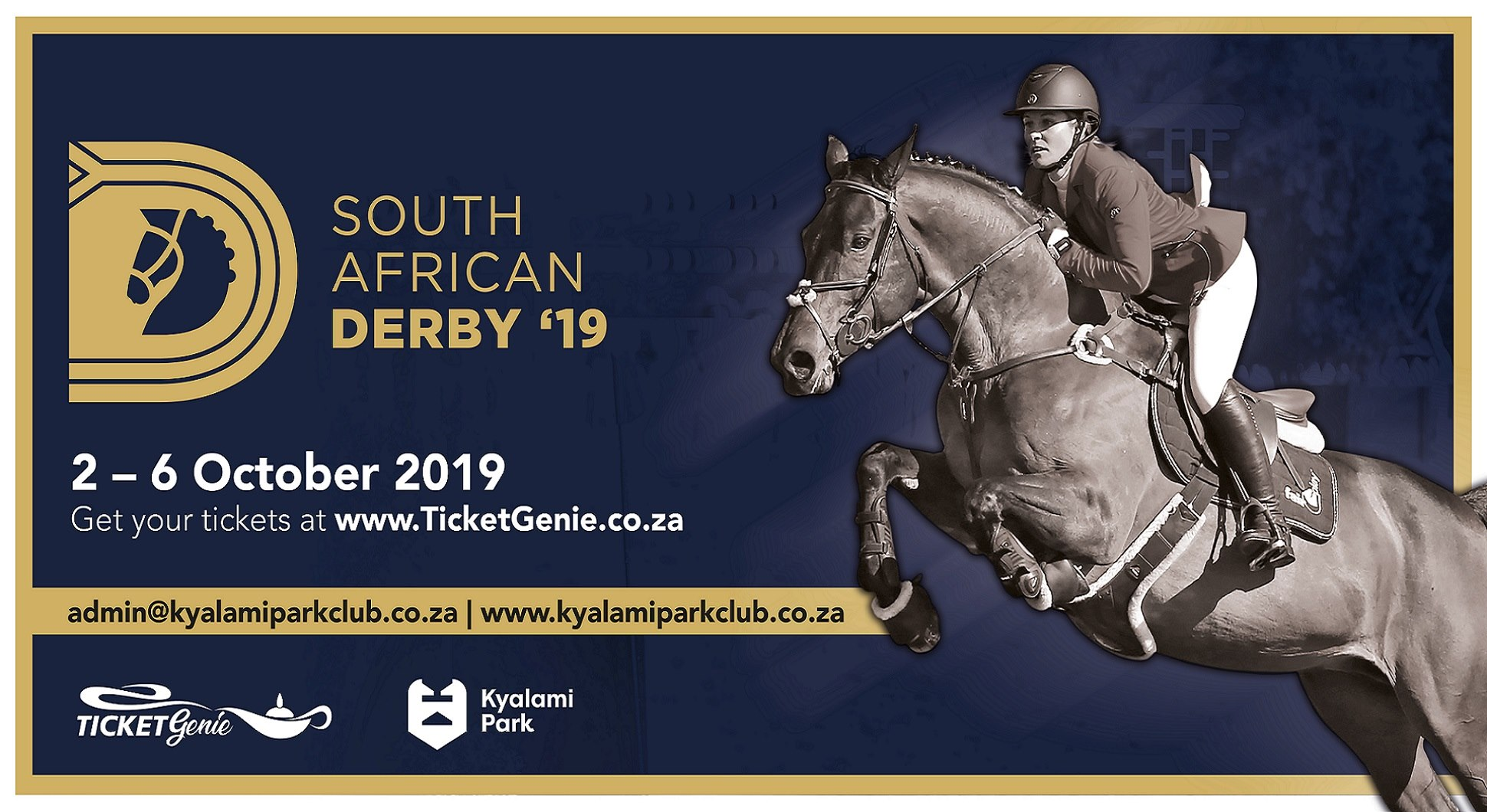 THE 2019 South African Derby - Showing/Complete Horse and Arena Entertainment