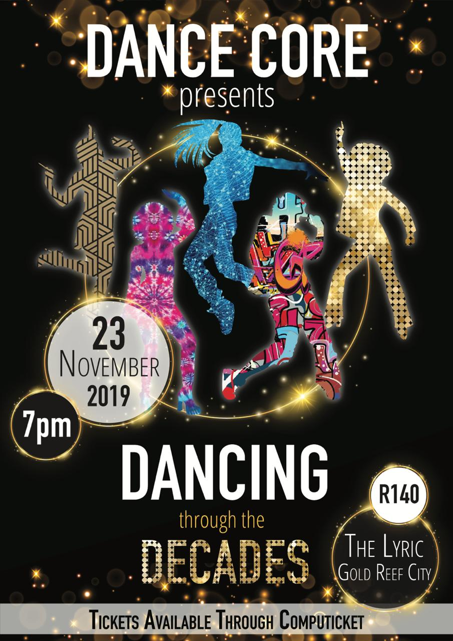 Dancing through the Decades - Dance Core 2019
