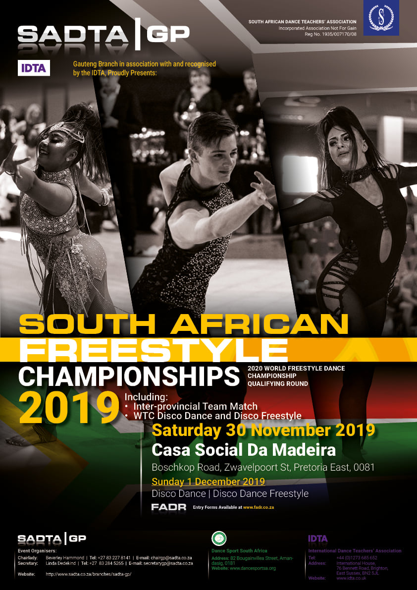 DISCO DANCE - SA Freestyle Championships 2019