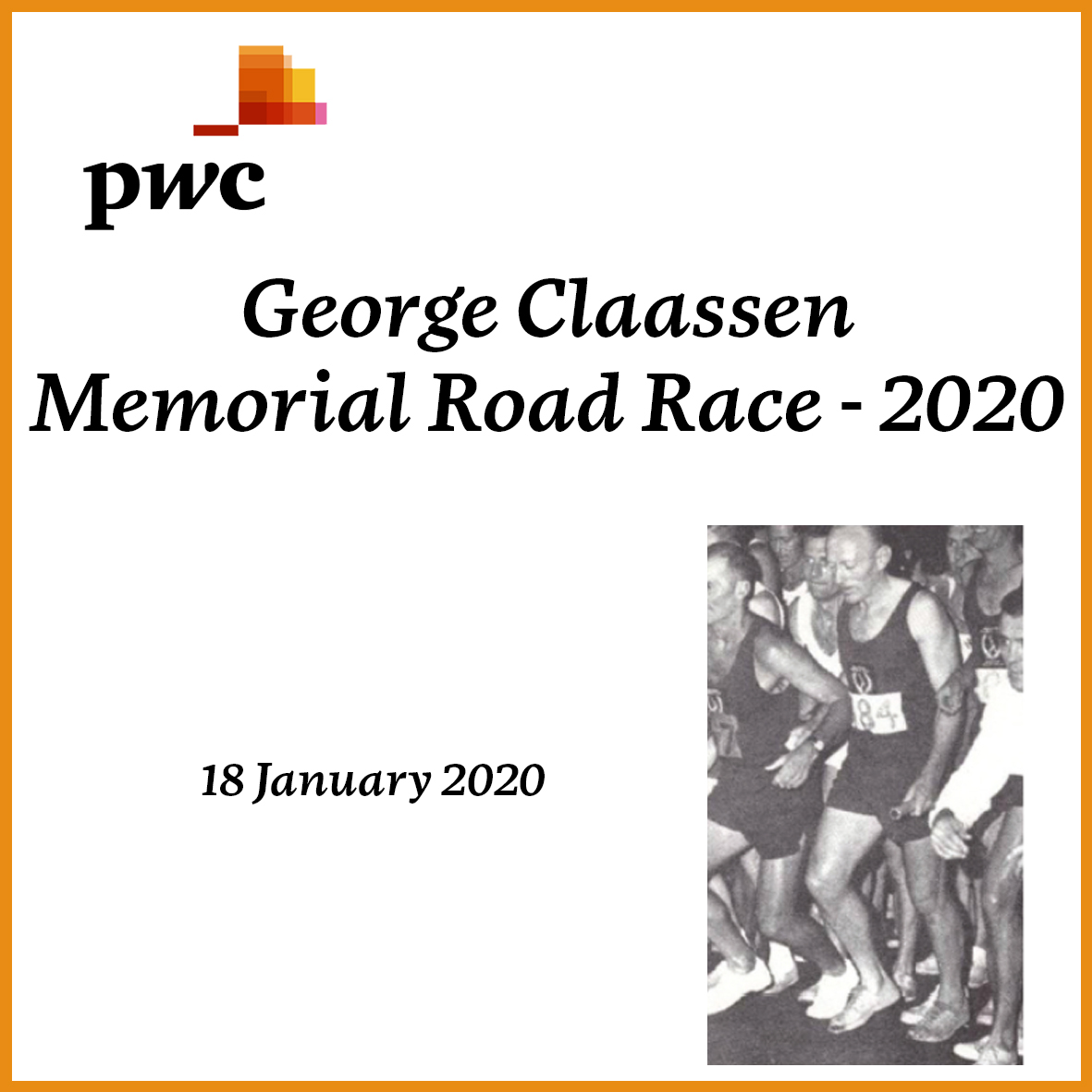 PwC George Claassen Memorial Road Race (2020)