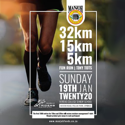 Manjoh 32km & 15km Road Race (2020)