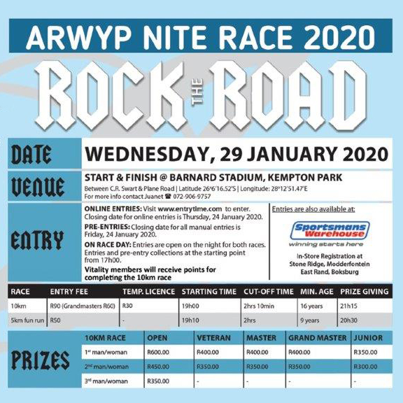 Arwyp Nite Race - Rock The Road (2020)