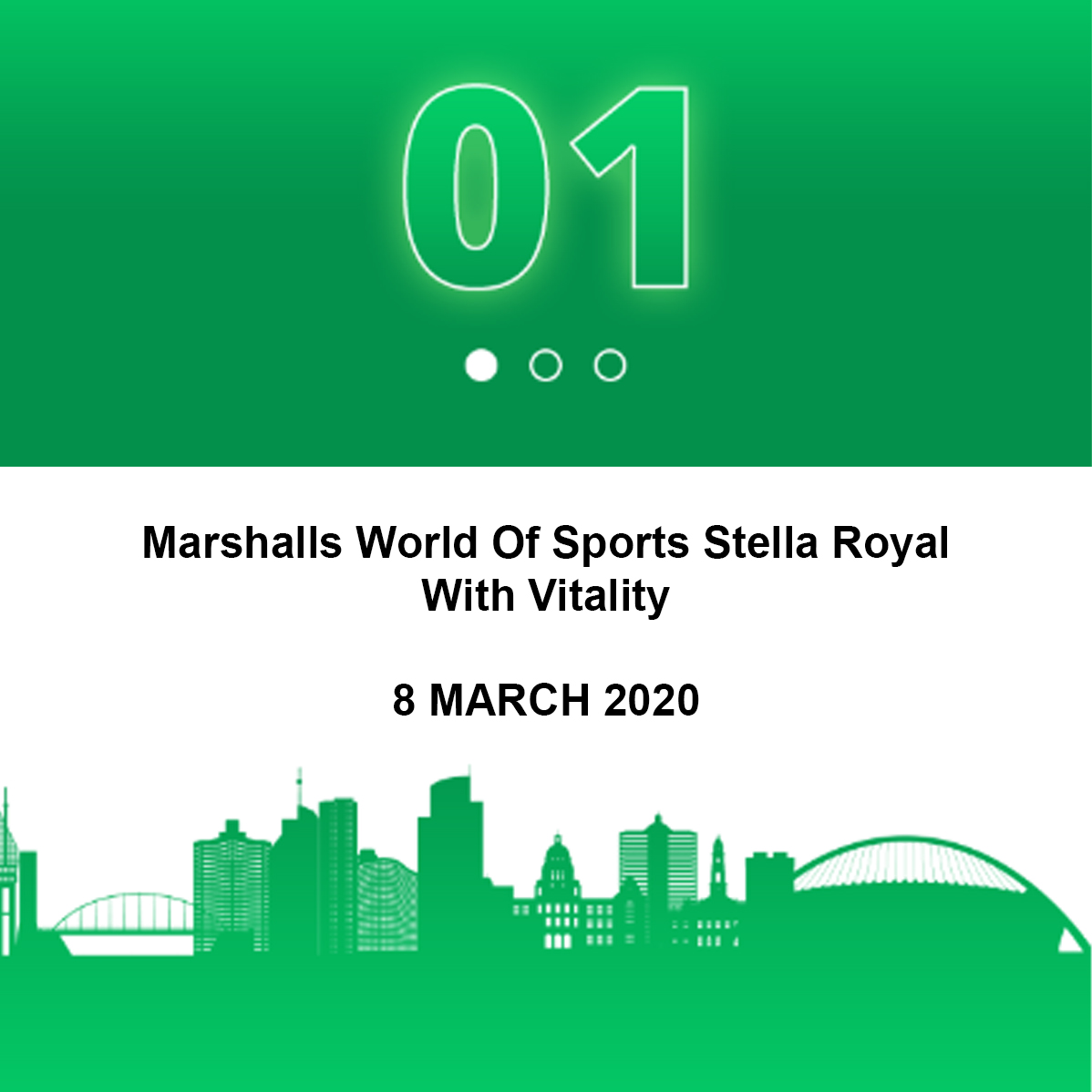 Marshalls World Of Sports Stella Royal With Vitality