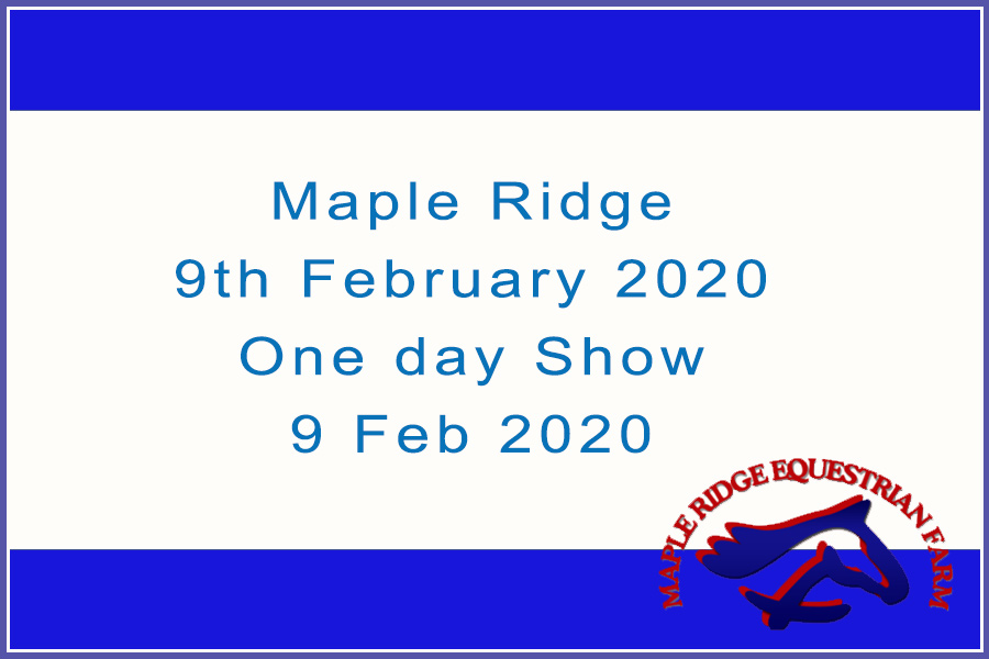 Maple Ridge 9th February 2020 One day Show