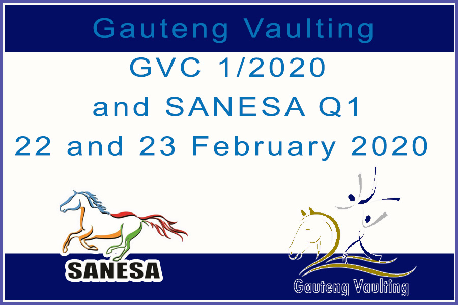 Gauteng Vaulting GVC 1/2020 and SANESA Q1 22 and 23 February 2020