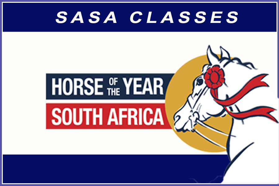 Horse of the Year 2020 - S.A.S.A Classes