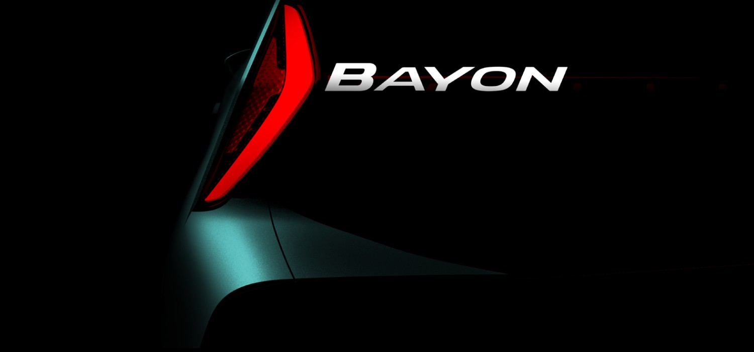 Bayon is Hyundai's new baby SUV
