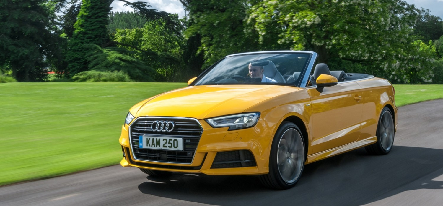 Audi A3 Cabriolet 2.0 TDI S line