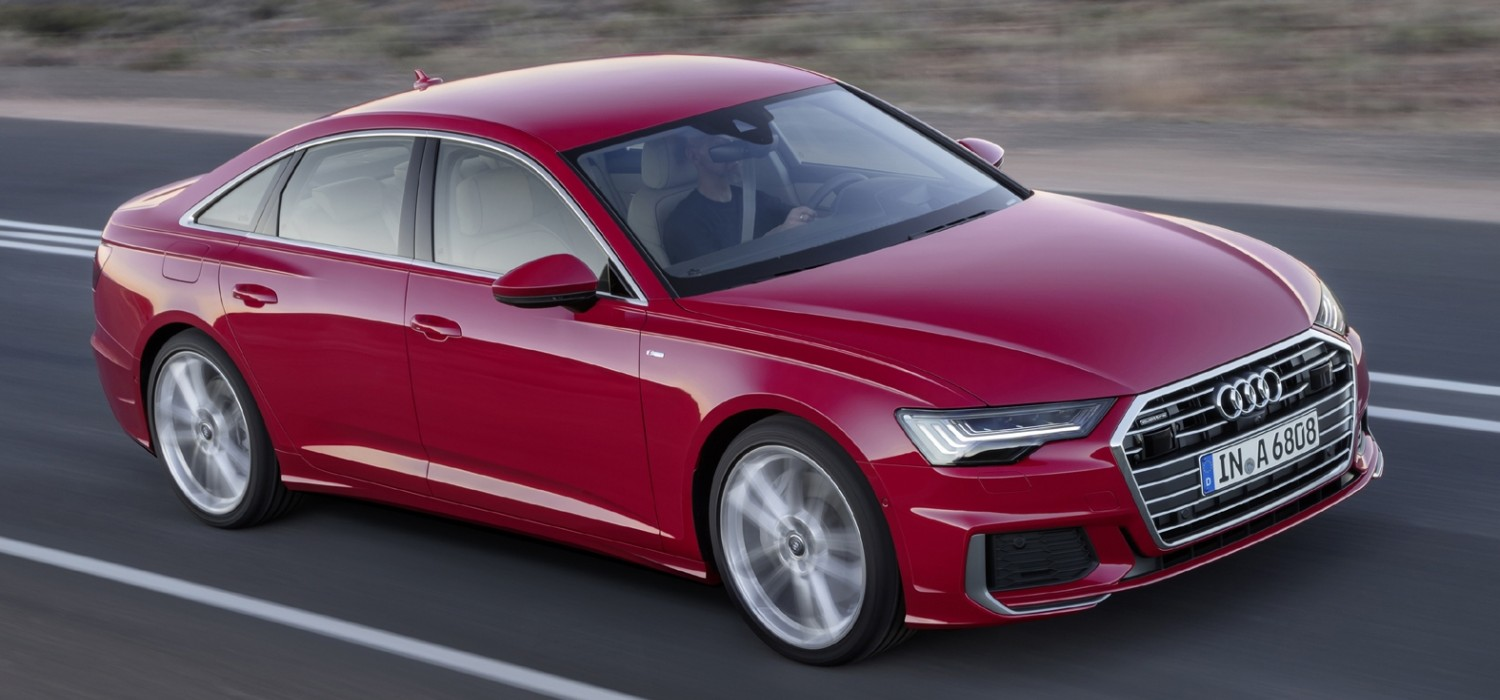 New Audi A6 gets high tech treatment