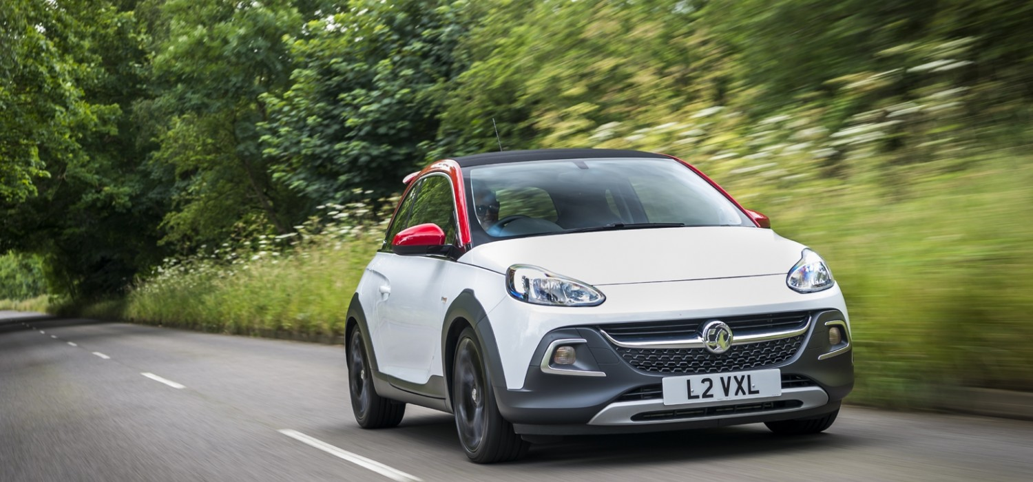 Vauxhall Adam Rocks Unlimited