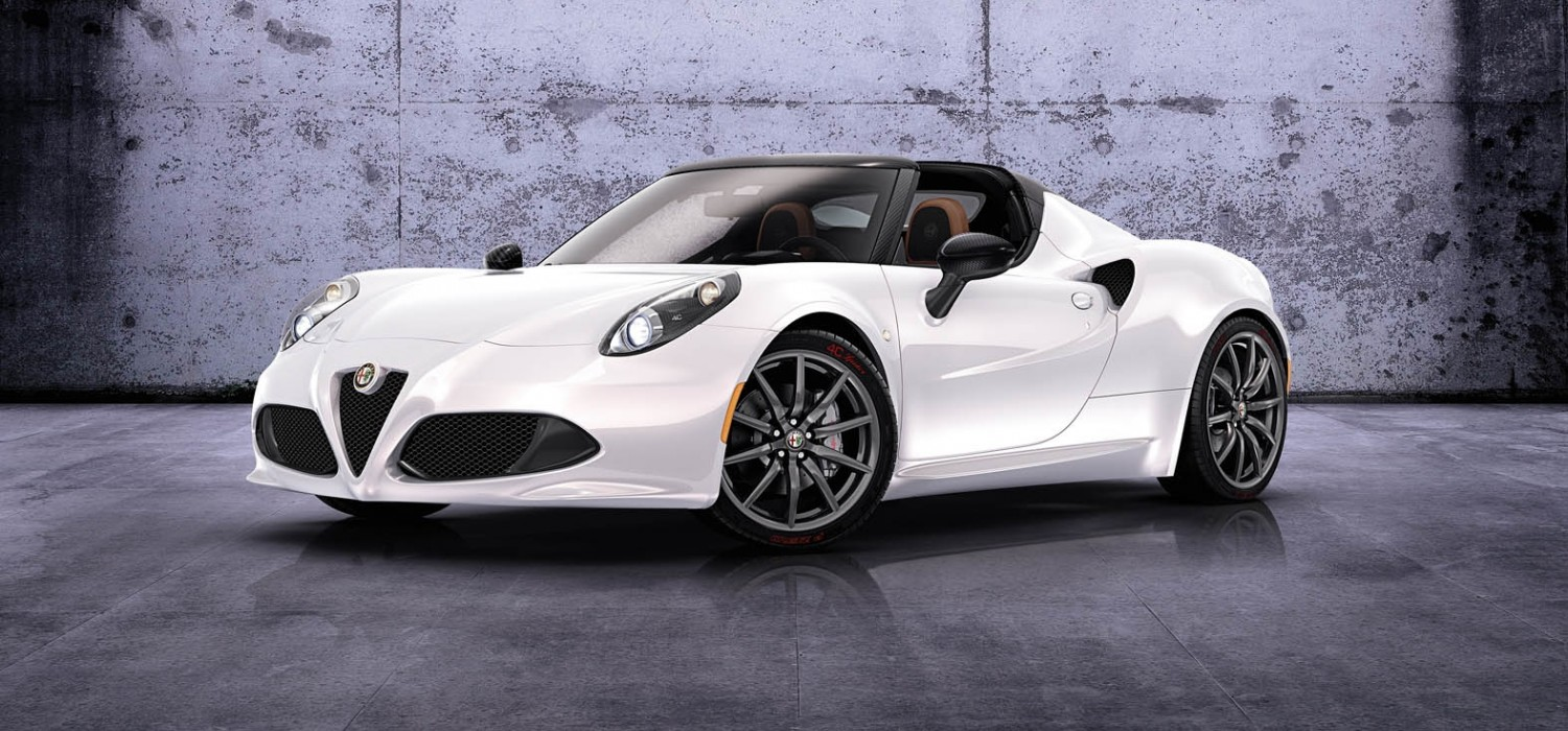 Alfa lifts the lid on 4C Spider