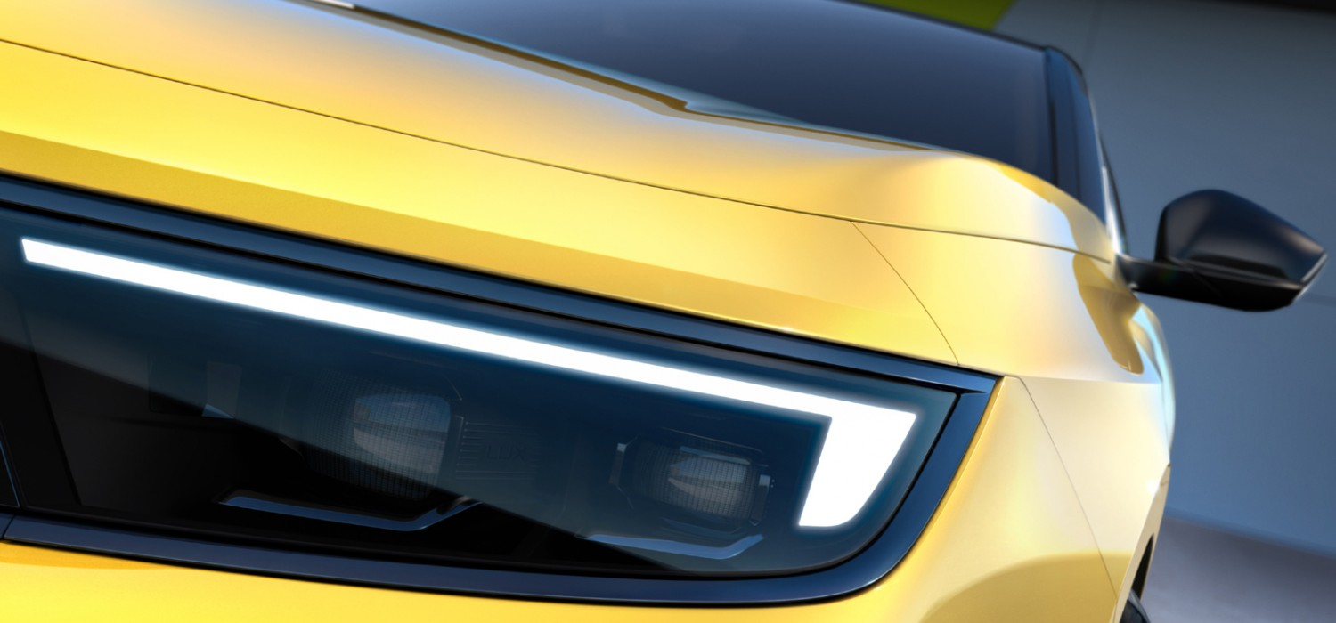 Vauxhall teases smart new Astra