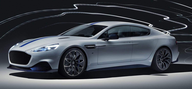 Aston Martin reveal electric Rapide