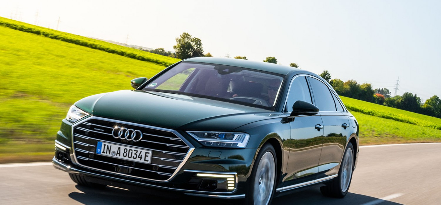 Hybrid power for Audi's luxury limo