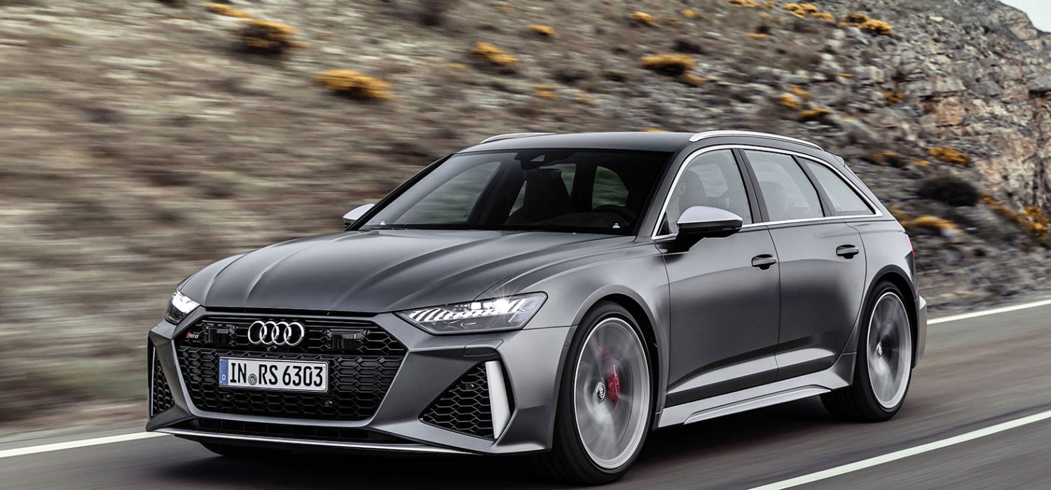 RS 6 Avant - the new estate of the art