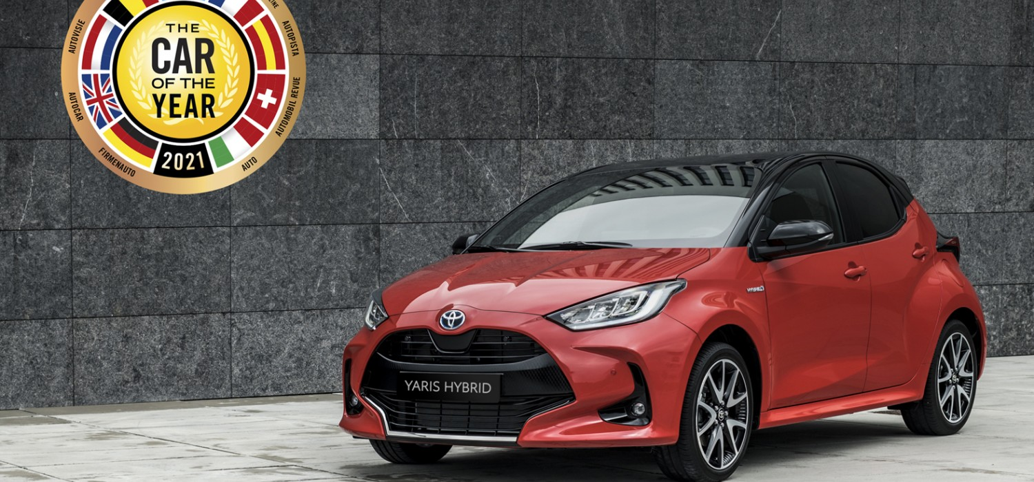 Toyota Yaris voted best in Europe
