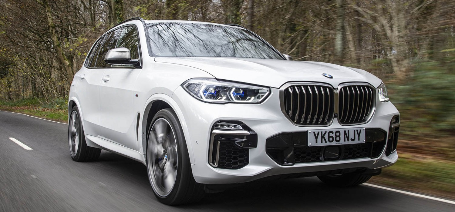 New BMW X5 here at last