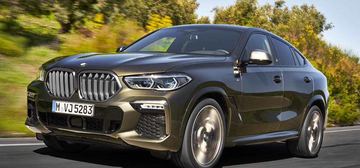 BMW lights up for a new X6