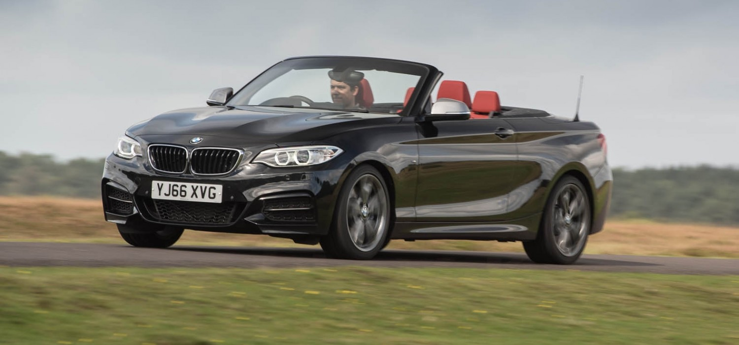 A superb BMW convertible