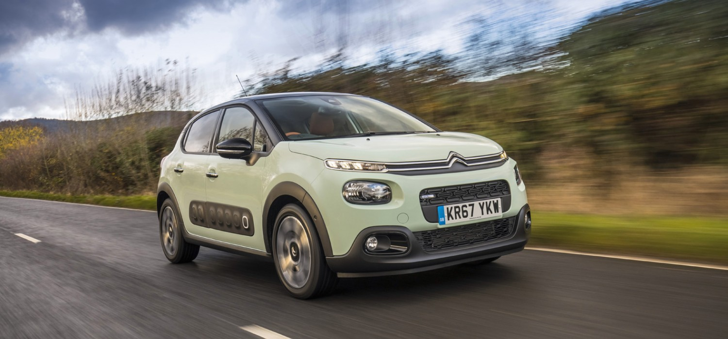 Citroen C3 goes to the top of the class