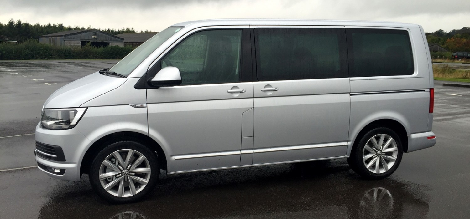 New Volkswagen Caravelle and Caddy Maxi Life - First Drive