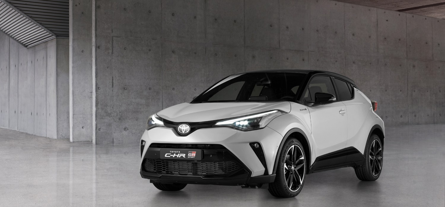 Sporty tweaks for Toyota C-HR