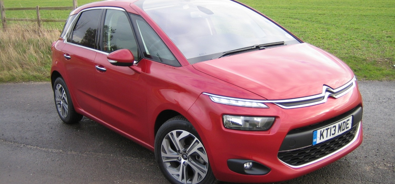 Citroen C4 Picasso a prize-winning family holdall