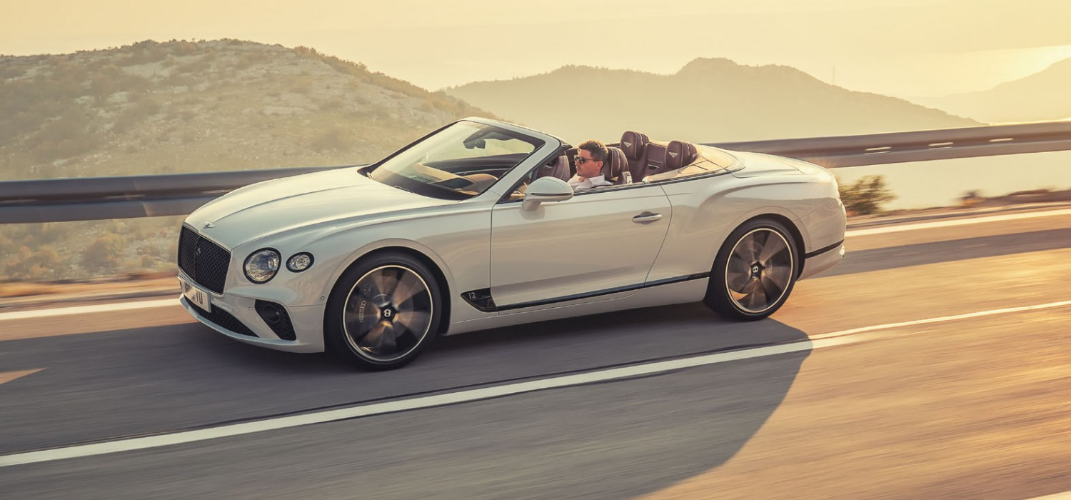 Bentley opens Continental for 2019