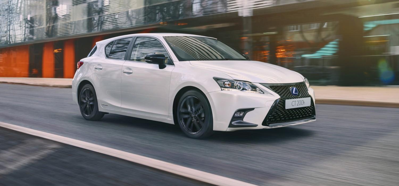 New look for Lexus CT range