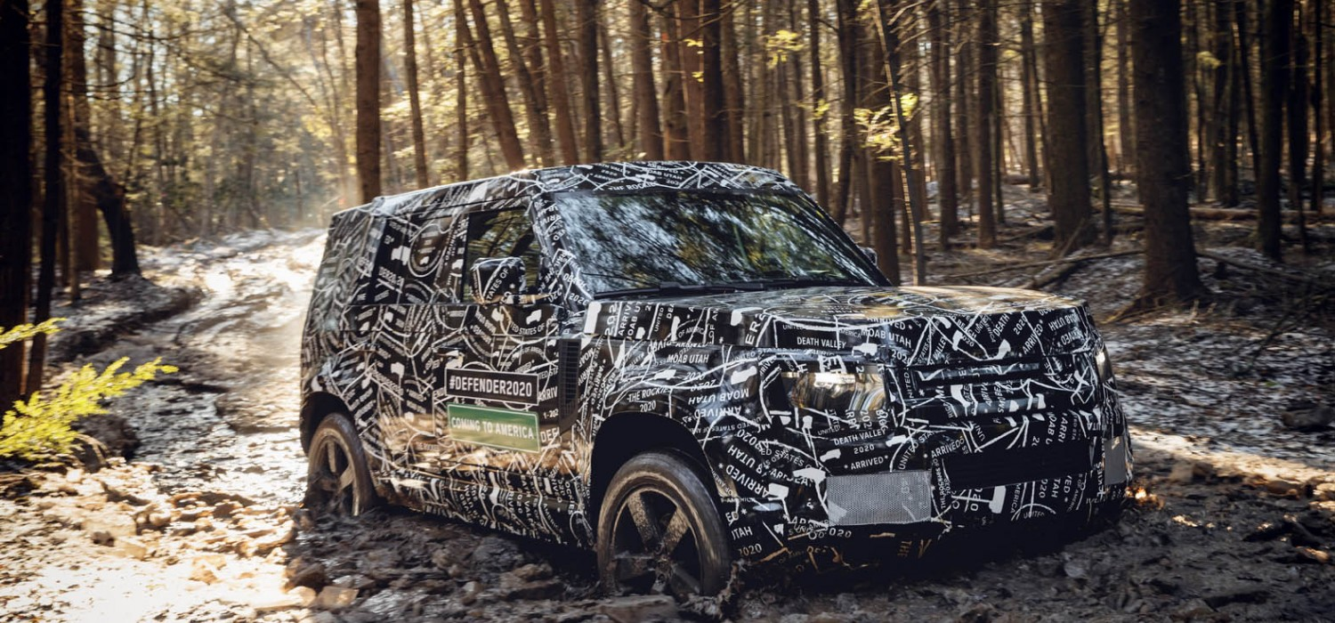 Land Rover reveals new Defender