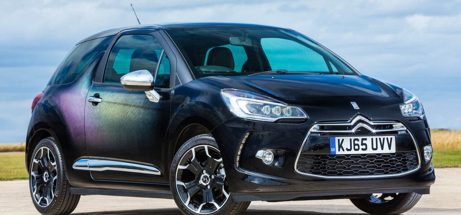 Limited edition lights up DS 3