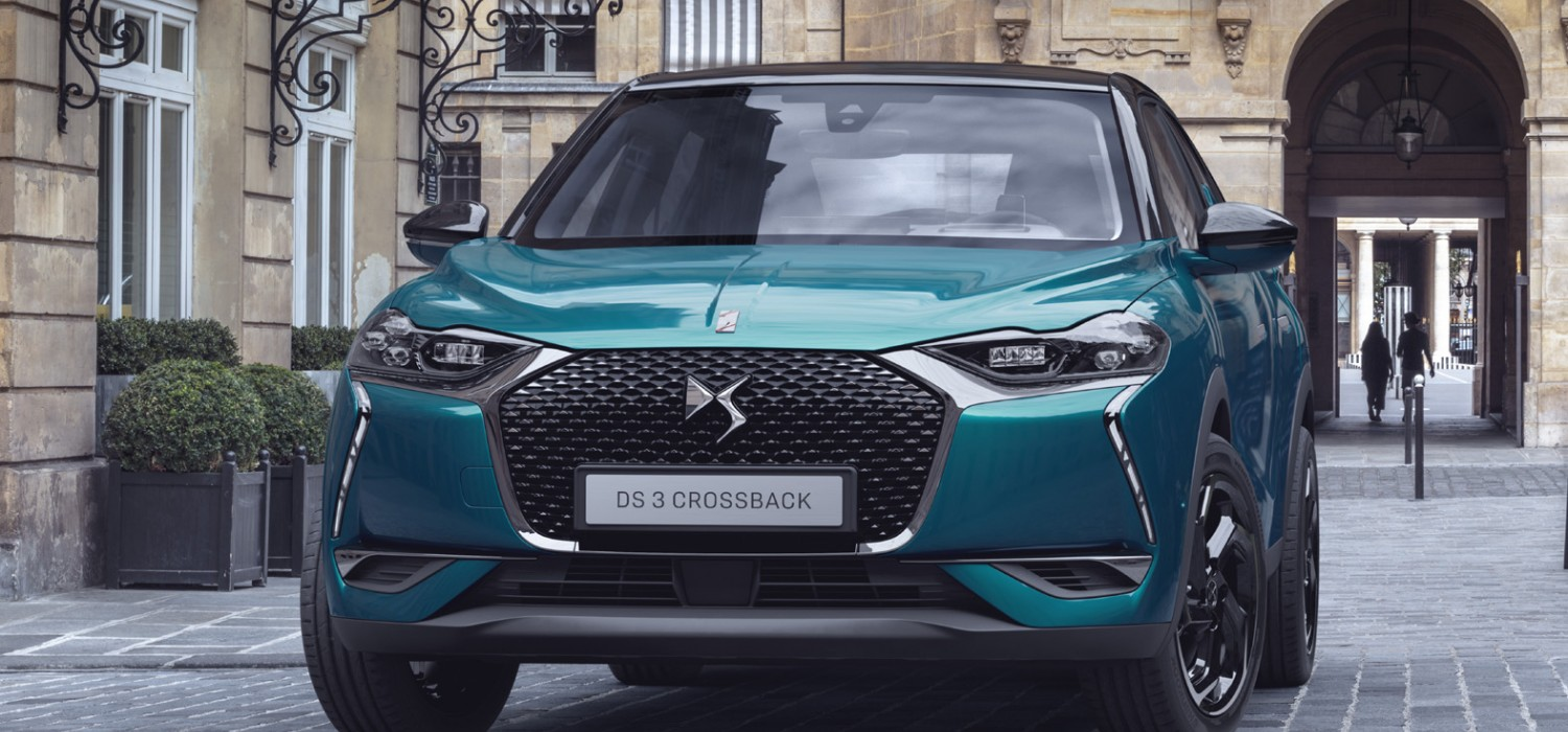 New DS 3 Crossback revealed