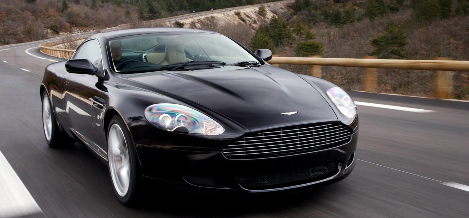 Aston Martin DB9 a true Brit supercar