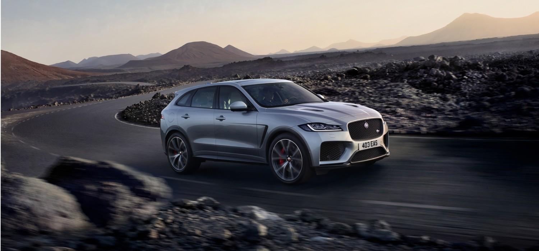 Jaguar F-PACE gets SVO treatment