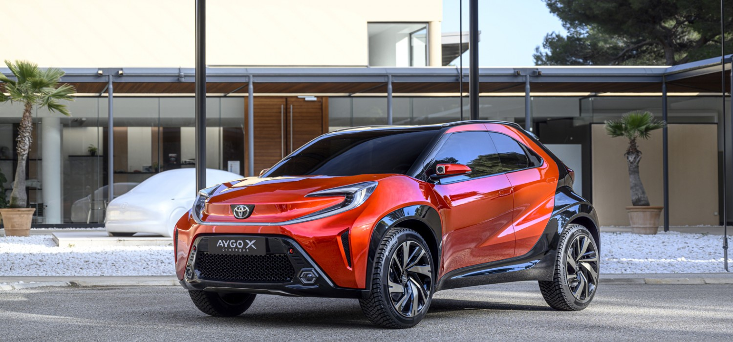 Bold looks for new Toyota Aygo