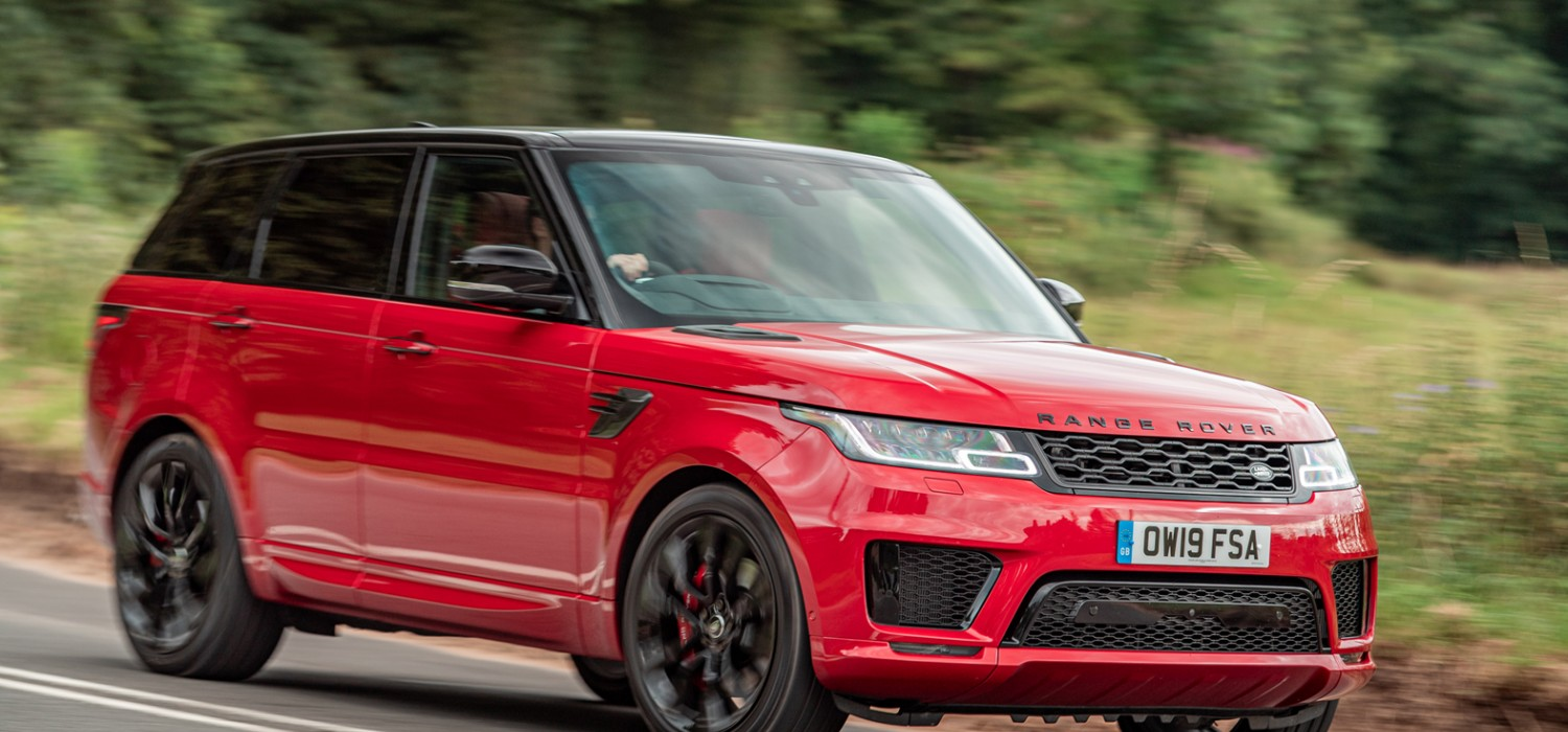 Triple boost for Range Rover Sport