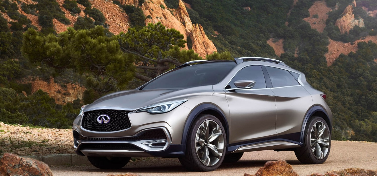 Infiniti aims to keep it compact