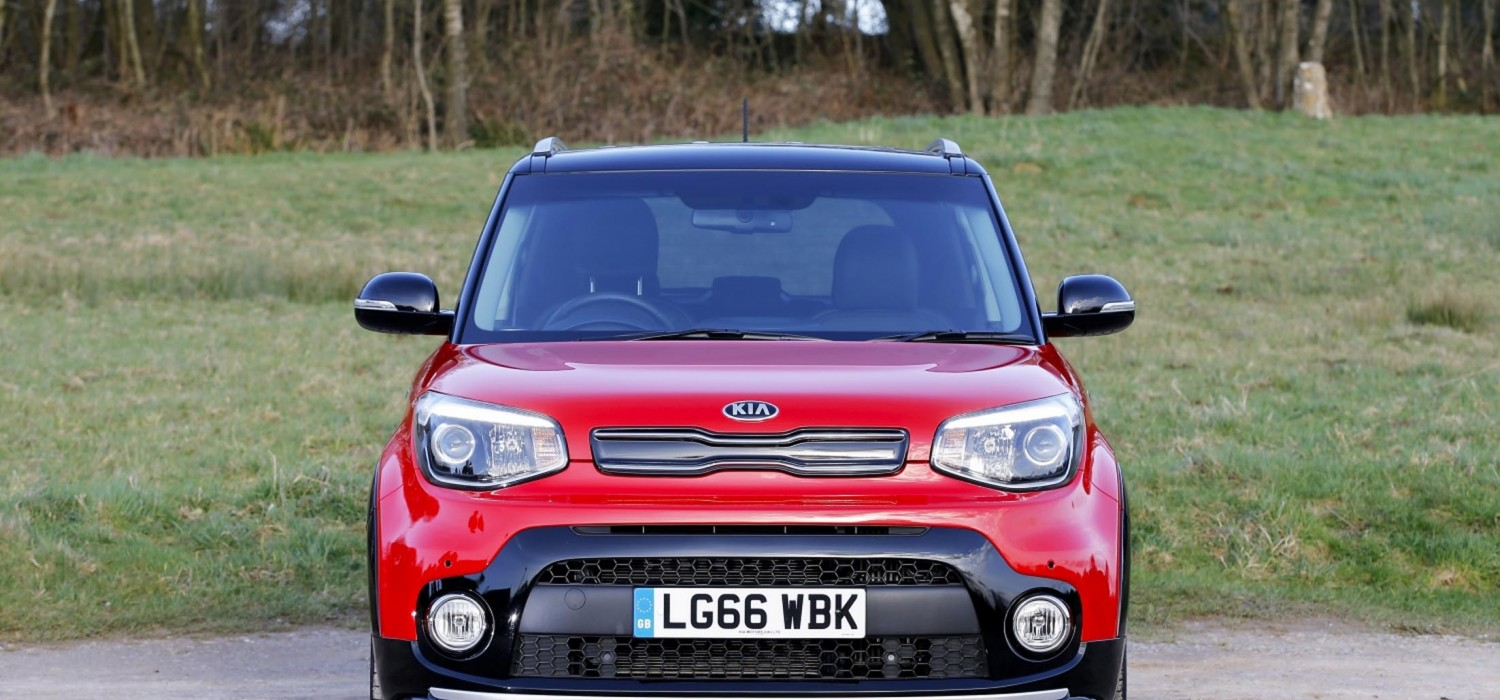 Sporty soft roader from Kia