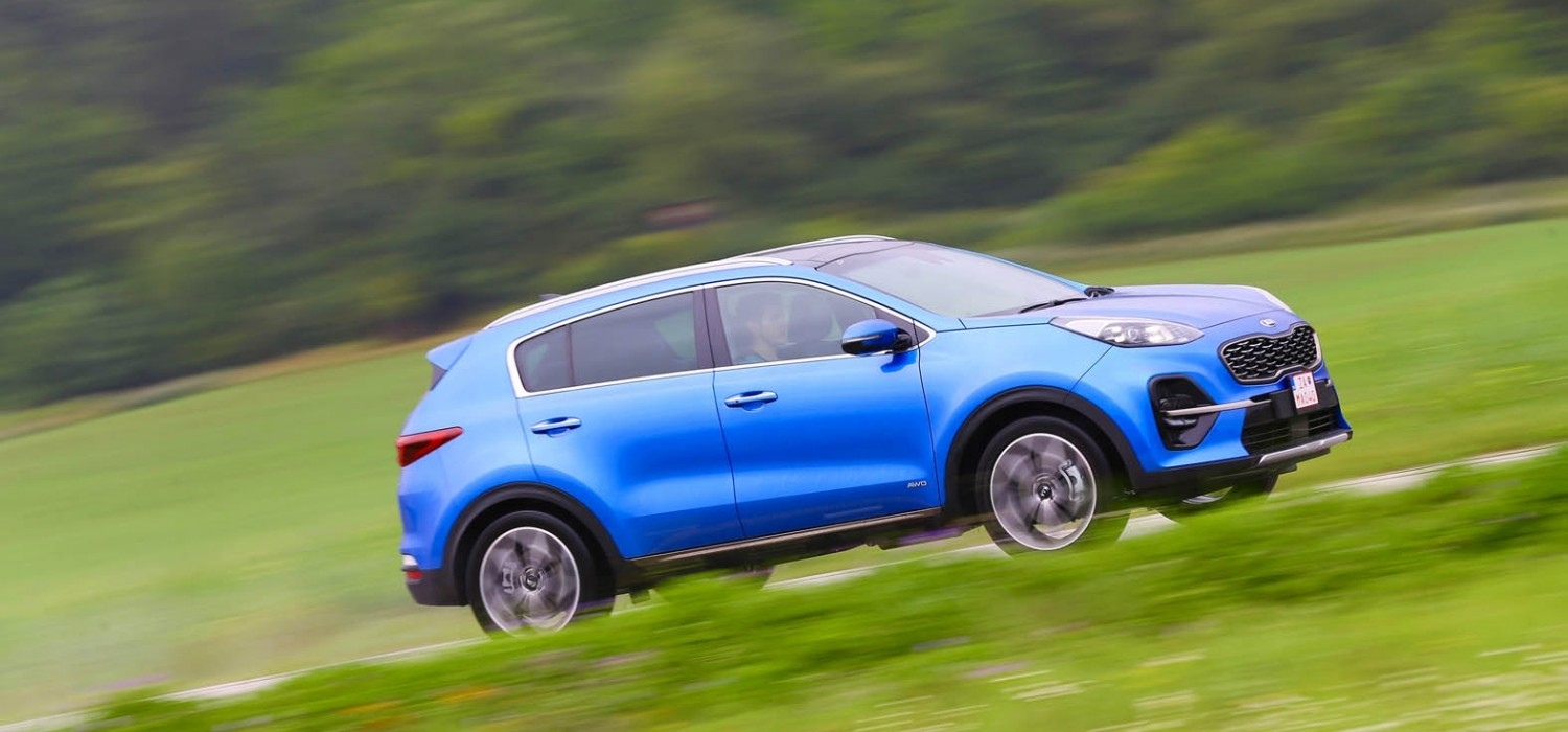 New Sportage heads electrical charge