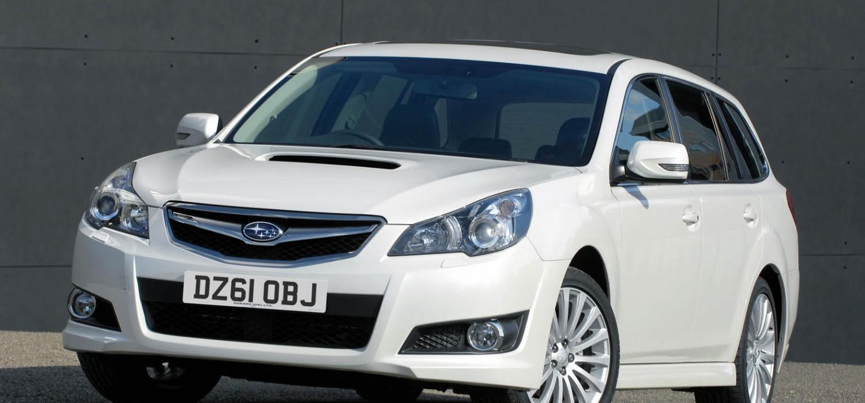 Unstoppable Subaru Legacy