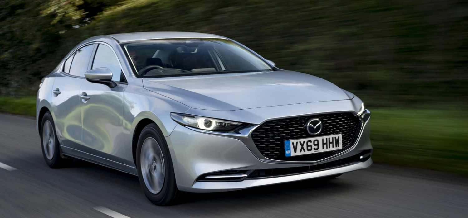 Super new engine and saloon from Mazda