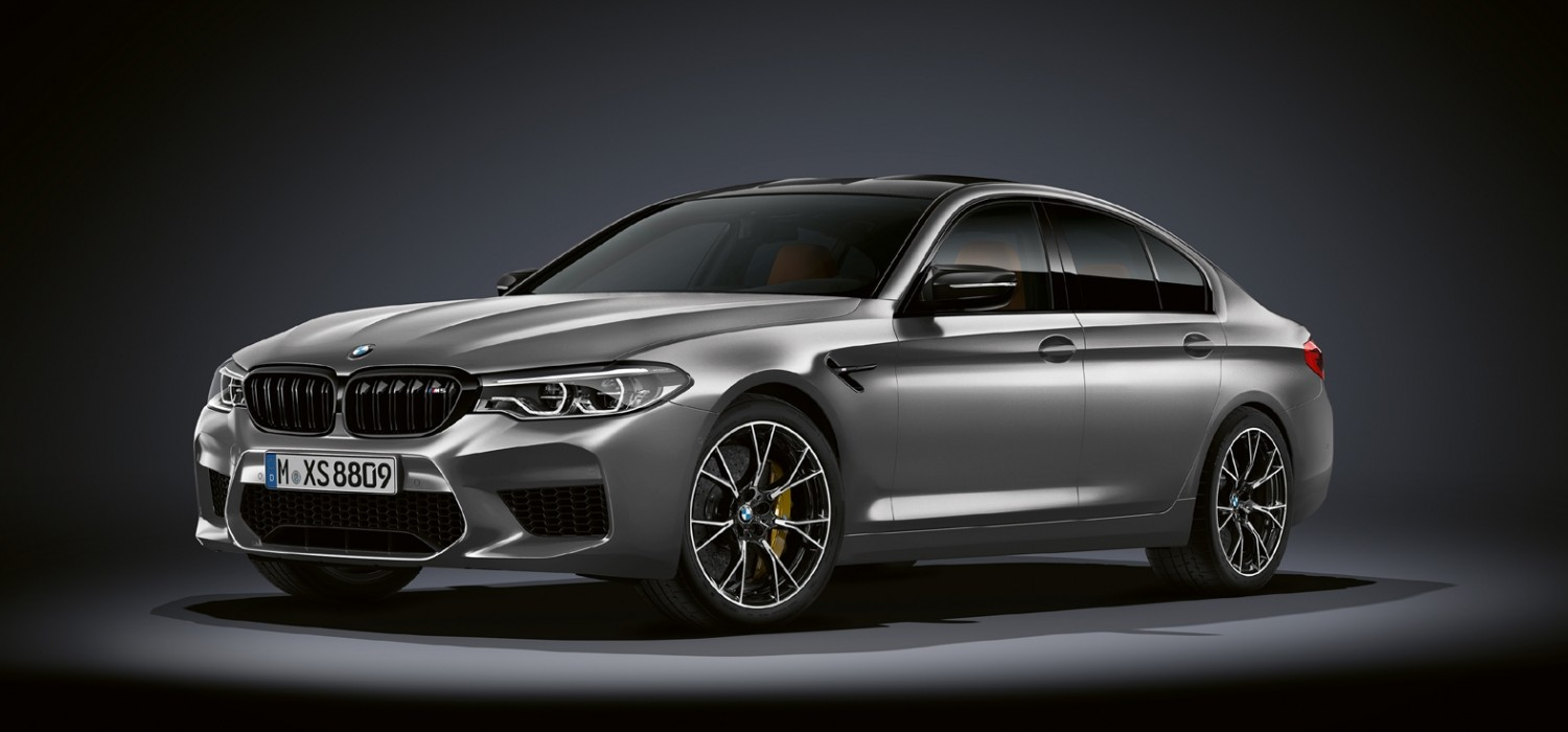 BMW upgrades M5