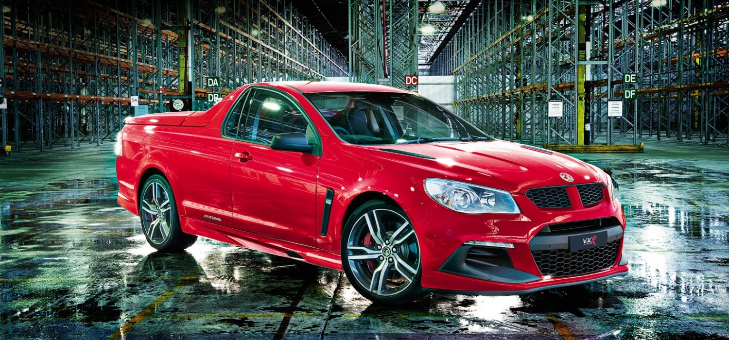 Vauxhall Maloo a brute of a ute