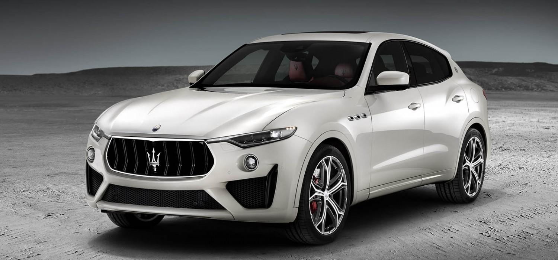 Supercar power for Maserati's SUV
