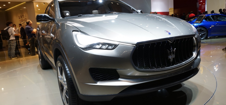 Maserati enters luxury SUV scene