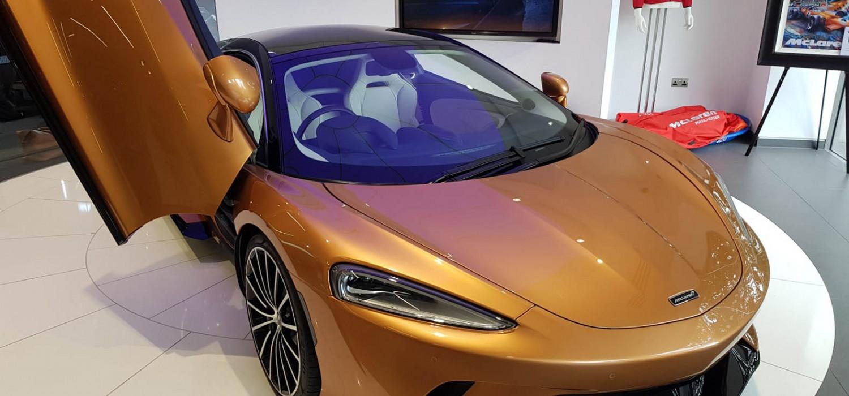 McLaren GT on Grand summer Tour