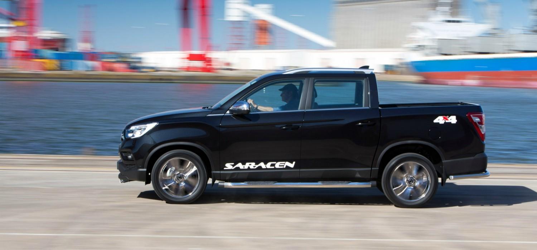 SsangYong Musso 2.2 E-XDI Saracen 4WD Auto
