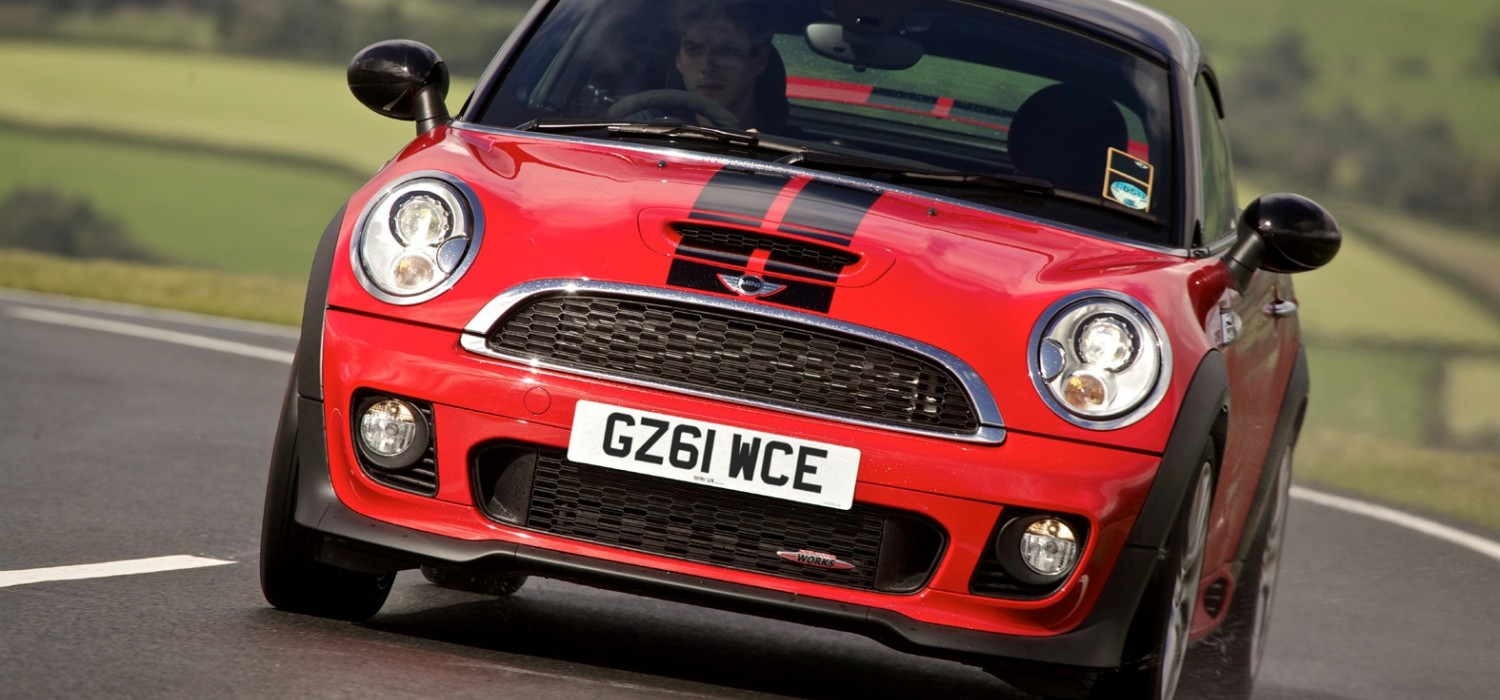 Convincing case for MINI Coupe