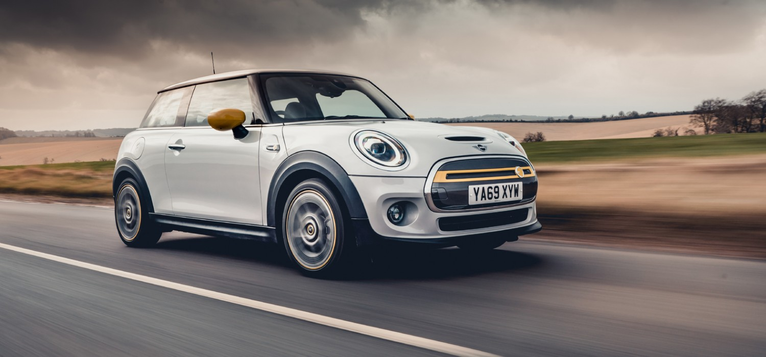 MINI goes electric with new Cooper S