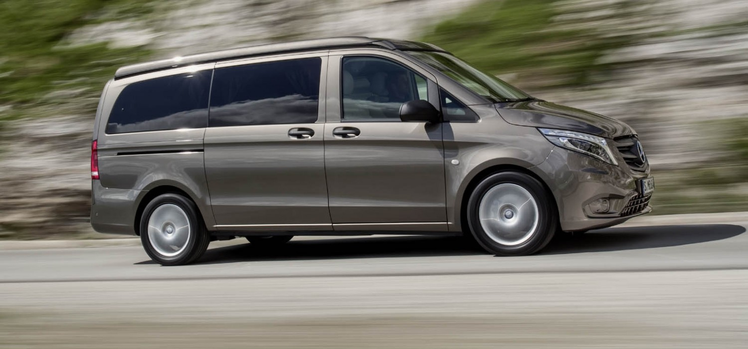 New Marco Polo camper van from Mercedes